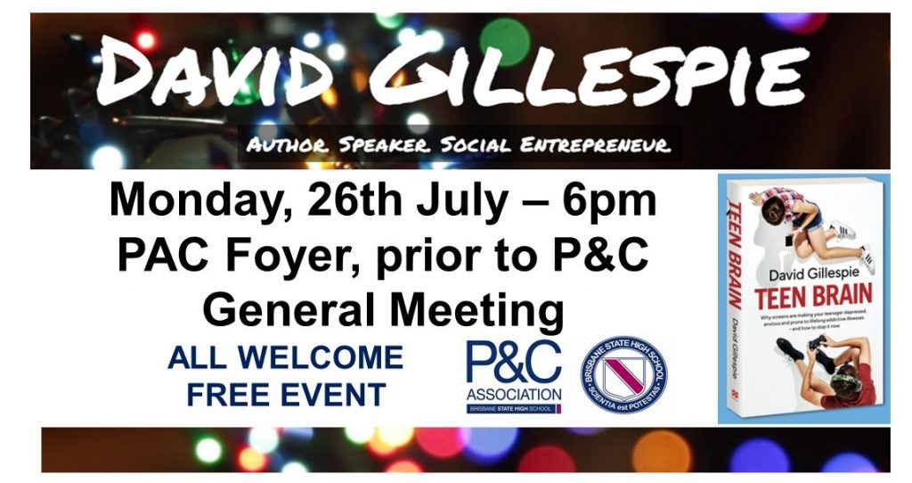 P&C General Meeting @ PAC Foyer, BSHS